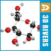 obj gulose molecule structure